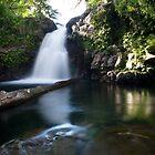 Liduduhniap Upper Falls - Pohnpei, Micronesia by Alex Zuccarelli