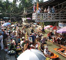 Floating Market by Carolyn Boyden