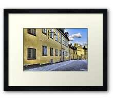 Old street. Framed Print