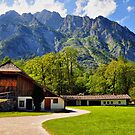 Country Feeling at Berchtesgaden by Daidalos