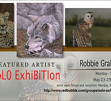 Robbie Graham, Solo Exhibition Banner by solo-exhibition