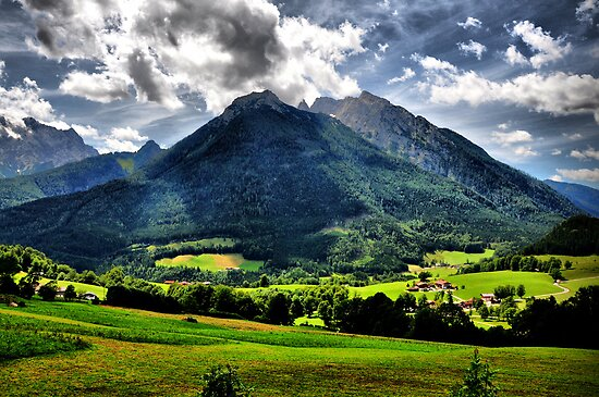 National Park Berchtesgaden by Daidalos