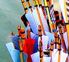 Nocking the arrows by patjila