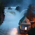 Ausable Chasm in Keeseville, NY by Becky Trudell