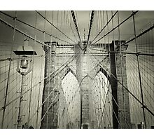The Brooklyn Bridge Photographic Print