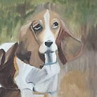 A Bassit Hound  by Rebecca Lee Means