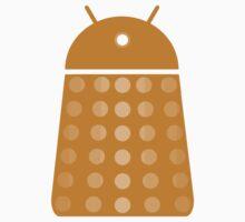 Droidarmy: Dalek - Dalek Gold Sticker by Nana Leonti