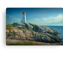 Lighthouse at Peggy's Cove No. 134 Canvas Print