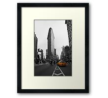 Flatiron Building - NYC Framed Print