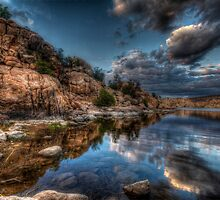 Rocks Vs Clouds by Bob Larson