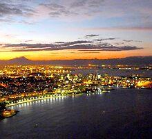 Rio de Janeiro after sunset by supergold
