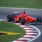 Michael Schumacher by Mark Prior
