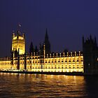 Westminster At Night by kels72