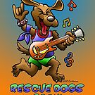 RESCUE DOGS ROCK! by NHR CARTOONS .