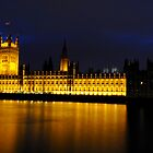 Palace of Westminster, London by Dhruba Tamuli