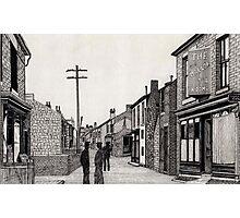 134 - RHOSLLANERCHRUGOG HIGH STREET, NORTH WALES (INK) 1987 Photographic Print