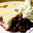 Cherry And Kirsch Cheesecake by Moonlake