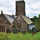 Bratton Fleming Church - HDR by Toby Wilson