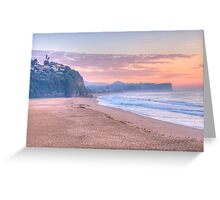 Pastels @ Dawn - Warriewood & Mona Vale Beaches,Sydney - The HDR Experience Greeting Card