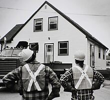 The Logistics Of Moving A House... by Laurie Minor