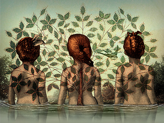 Sisters by Catrin Welz-Stein