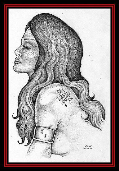 Great Red Dragoness II by Sean Phelan