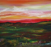 Prairie Daybreak in Spring by James Bryron Love
