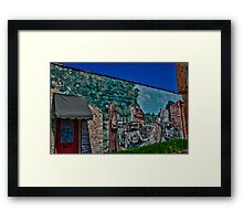Downtown Cary Wall Art Framed Print