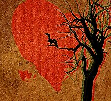 Heart, Tree, Raven by SuddenJim
