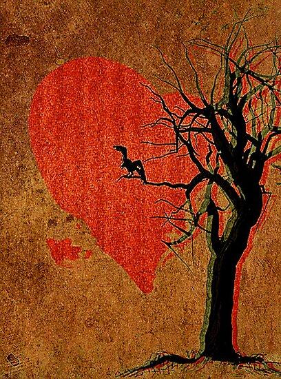 Heart, Tree, Raven by SuddenJim