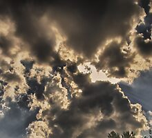 Bow Tie Clouds by DBGuinn