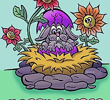 Easter Bunny  by NHR CARTOONS .