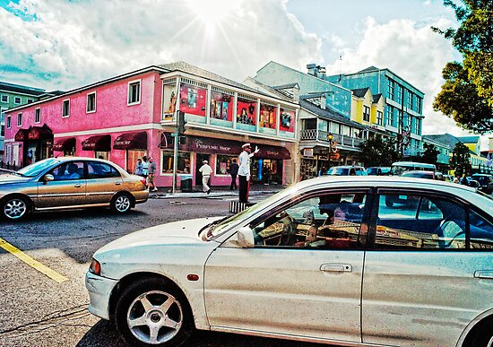 Nassau Traffic Jam by susan stone