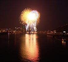 Fourth of July - Pittsburgh, PA by searchlight