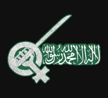 SAUDI WOMEN JASMINE REVOLUTION T-Shirt