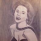 Marilyn Monroe    Sketch is all most done... by TSykes