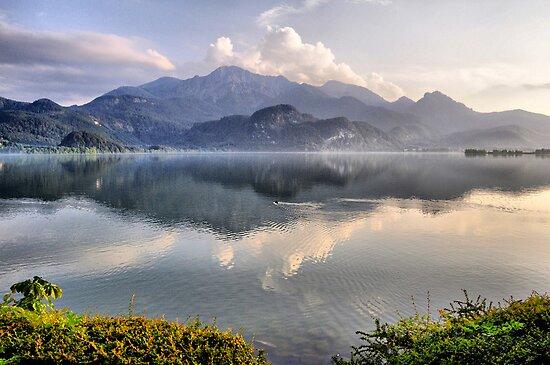 Lake and Mountains II by Daidalos