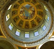 Eglise du Dome, Paris by Charuhas  Images