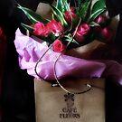 Carol Sent me Flowers  by scarletjames