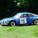 Alpine Renault A110 by Willie Jackson