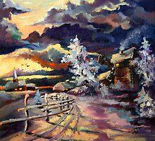 Frosty morning by Mikko Tyllinen