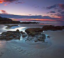 Tyndall Beach Sunrise #6 by Chris Cobern
