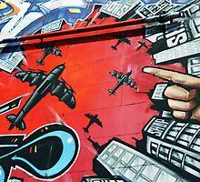 Brighton graffiti by Roxy J