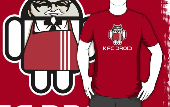 KFC DROID (text) by Yiannis  Telemachou