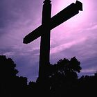 """""""Cross at the Spanish Mission"""" by waddleudo"""