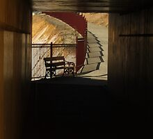 Underpass, Maryborough Vic by RachelAlexandra