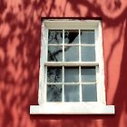 Window With Red And Shadows by SuddenJim