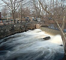 Faulkner Mills Waterfall III by SPPhotography