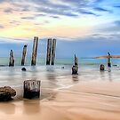 Moods Of Port Wilunga Panorama by Shannon Rogers