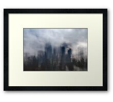 The Metropolis: Dawn Framed Print